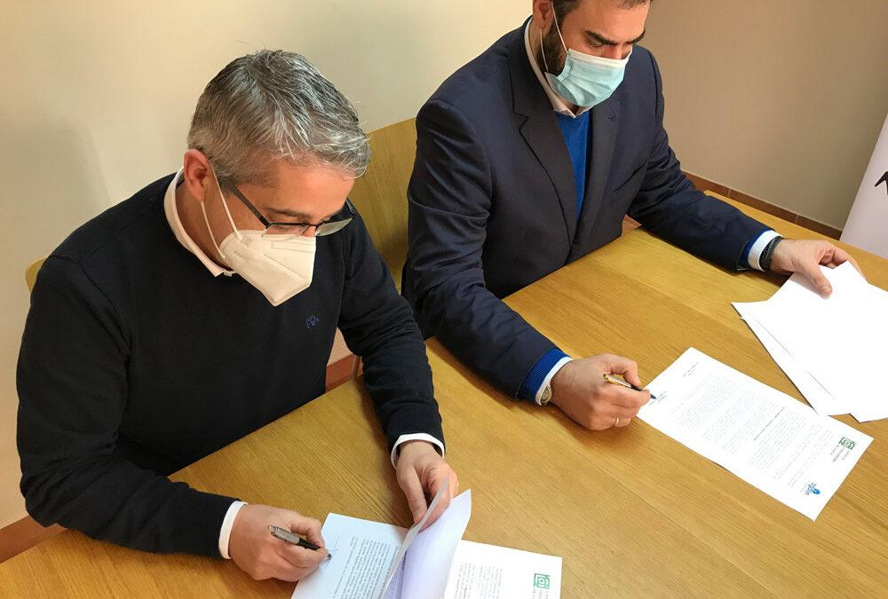 Convenio entre AGALIN e a Unión de Consumidores de Galicia